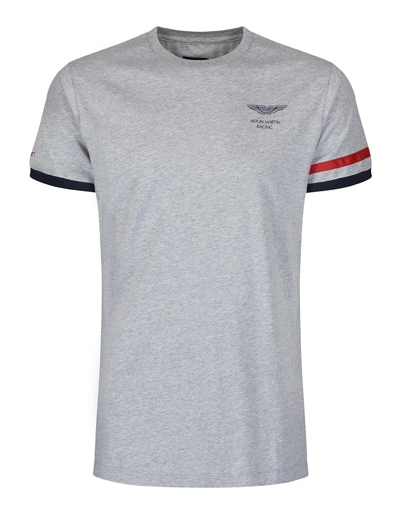 hackett pearl grey aston martin racing str t-shirt