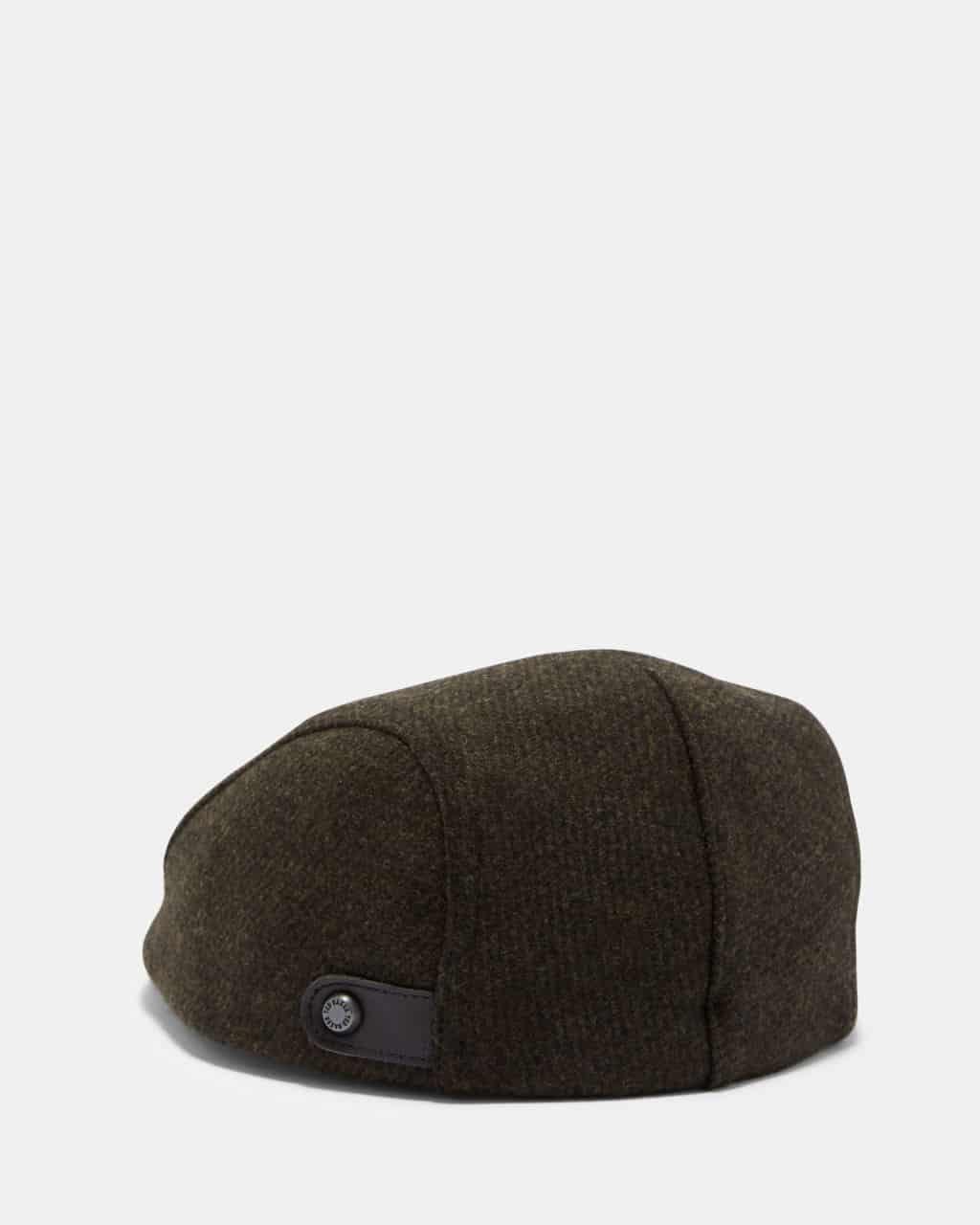 TED BAKER LONDON ENGLISH KHAKI FLAT CAP ca9d773e8e19