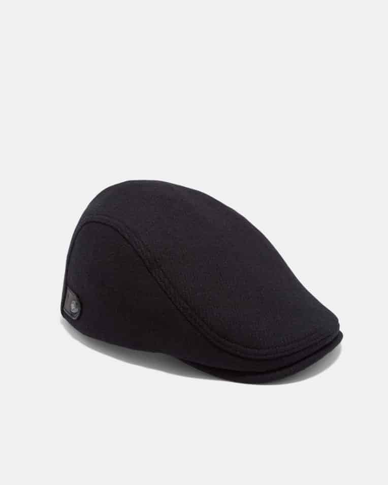 08d95ab73f4 TED BAKER LONDON ENGLISH NAVY FLAT CAP