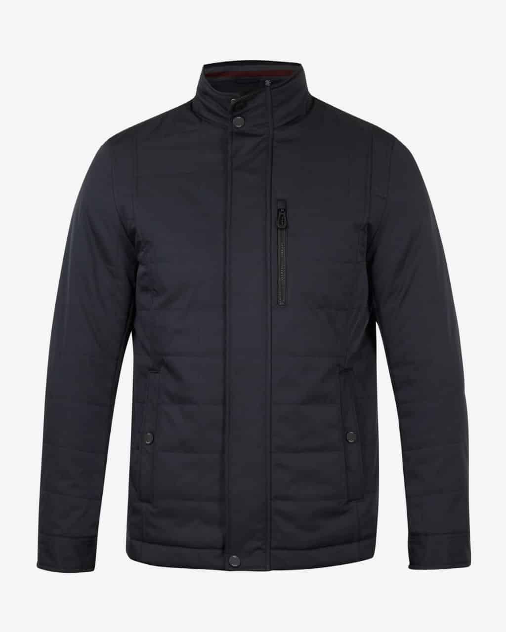 e56d25fc0f7d ted baker london reller navy quilted harrington jacket