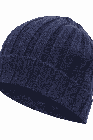 1599c81fb44b5 OSCAR JACOBSON DARK BLUE KNITTED HAT