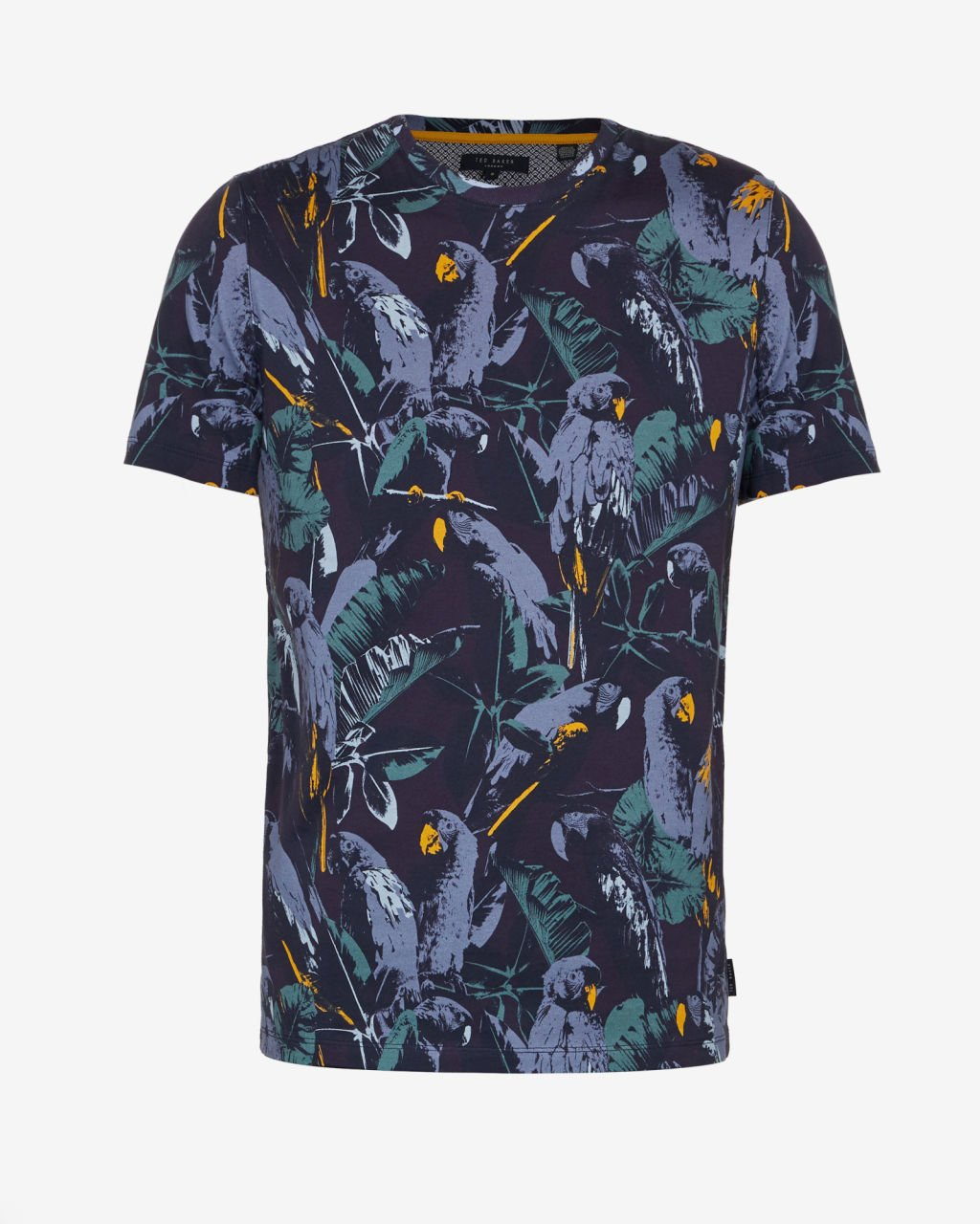 3b812dfeb TED BAKER LONDON BEAKME NAVY PARROT PRINT T-SHIRT