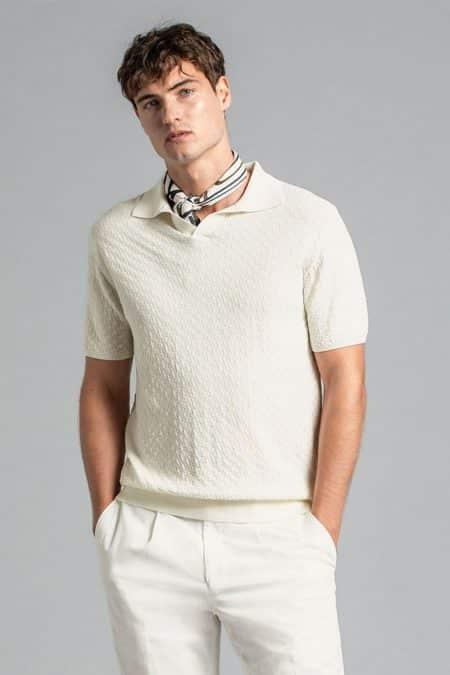 Barrol Poloshirt Ss 910 Off White 69114972 910 List